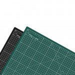 Plancha de corte profesional A1, doble cara, 5 capas