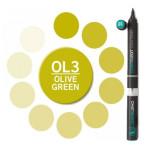 Rotulador Chameleon Verde Oliva OL3