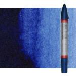 Rotulador de acuarela tono azul de prúsia Winsor & Newton doble punta pincel