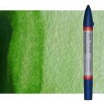 Rotulador de acuarela Verde vejiga Winsor & Newton doble punta pincel