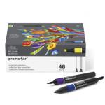 Rotuladores Promarker 48 colores surtidos