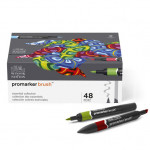 Rotuladores Promarker Brush 48 colores surtidos