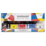 Set 5 tintas primarias 30 ml, Sennelier