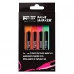 Set de 6 rotuladores Liquitex Paint Marker FLUO (2 mm)