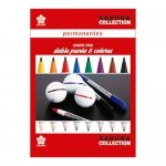 Set 8 rotuladores colores Identi Pen Sakura