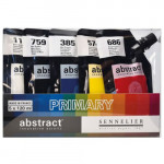 Set Abstract Primary, 5 colores primarios, 120 ml. Sennelier