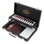 Set de acuarela Black Series Caja Madera (28 piezas), Royal&Langnickel
