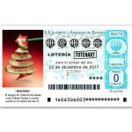 Sorteo Lotería Totenart - 22 de diciembre
