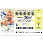 Sorteo Lotería Totenart - 8 de enero
