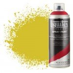 Pintura en Spray amarillo medio azo 0412, Liquitex acrílico, 400 ml.