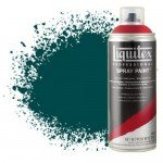Pintura en Spray verde ftalocianina (tono azul) 0317, Liquitex acrílico, 400 ml.