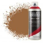 Pintura en Spray tierra de siena natural 0330, Liquitex acrílico, 400 ml.