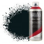Pintura en Spray Negro carbón 0337, Liquitex acrílico, 400 ml.