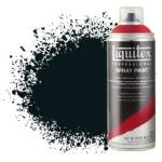 Pintura en Spray Negro carbón 0337, Liquitex acrílico, 400 ml.