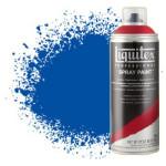 Pintura en Spray Azul cobalto 0381, Liquitex acrílico, 400 ml.