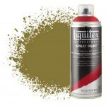 Pintura en Spray Amarillo Bronce 0530, Liquitex acrílico, 400 ml.