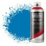 Pintura en Spray Azul Brillante 0570, Liquitex acrílico, 400 ml.