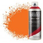 Pintura en Spray Naranja fluorescente 0982, Liquitex acrílico, 400 ml.