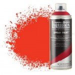 Pintura en Spray Rojo fluorescente 0983, Liquitex acrílico, 400 ml.