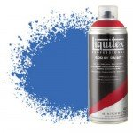 Pintura en Spray Azul fluorescente 0984, Liquitex acrílico, 400 ml.