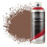 Pintura en Spray Tierra de Siena Tostada 5, 5127, Liquitex acrílico, 400 ml.