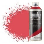 Pintura en Spray Rojo cadmio medio 5, 5151, Liquitex acrílico, 400 ml.