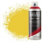 Pintura en Spray Amarillo cadmio oscuro 5, 5163 Liquitex acrílico, 400 ml.
