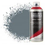 Pintura en Spray Gris neutro 5, 5599, Liquitex acrílico, 400 ml.