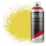 Pintura en Spray Amarillo cadmio medio 5, 5830, Liquitex acrílico, 400 ml.