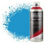 Pintura en Spray Azul cerúleo 6, 6470, Liquitex acrílico, 400 ml.