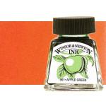 Tinta Dibujo Naranja Winsor Newton, 14 ml.