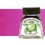 Tinta Dibujo Purpura Winsor Newton, 14 ml.