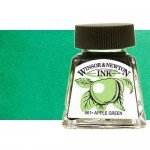 Tinta Dibujo Verde Esmeralda Winso Newton, 14 ml.