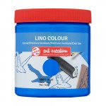 Tinta Linograbado Color Azul 5001, 250 ml. ArtCreation