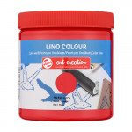 Tinta Linograbado Color Rojo 3018, 250 ml. ArtCreation