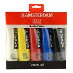 Set Acrílico Amsterdam 5 colores (120 ml)