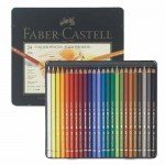 Estuche de Lápices color POLYCHROMO, Faber Castell (24 colores)