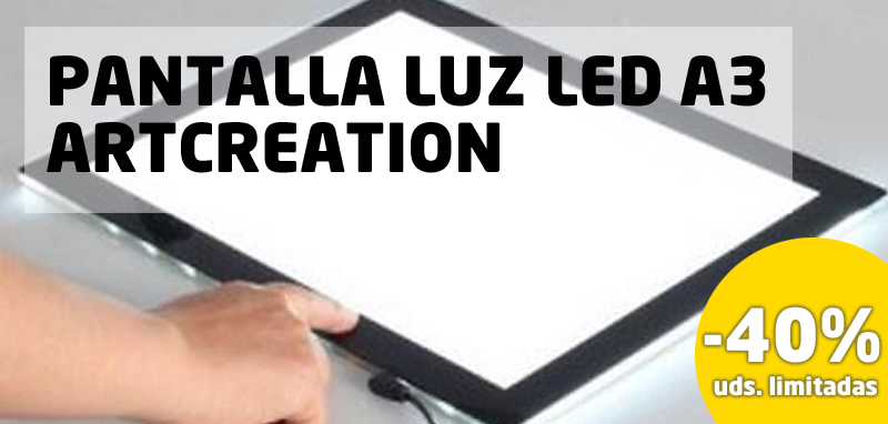 Pantalla Luz Led A3 ArtCreation