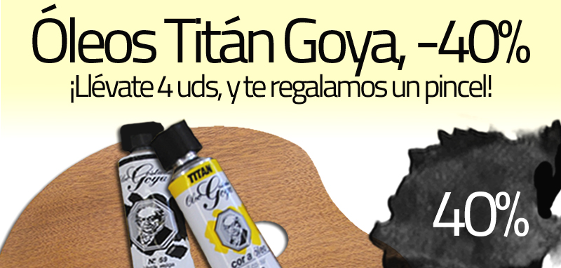 Óleos Titán Goya