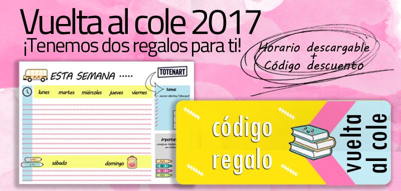 Vuelta al cole 2017