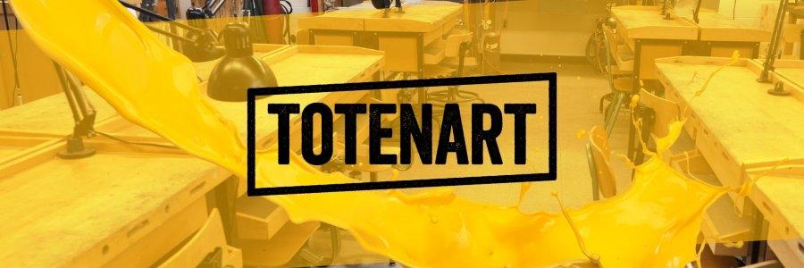 Estrenamos un nuevo lienzo, Totenart #subelapersiana