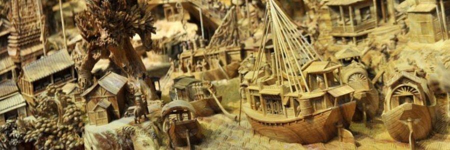 ¿Escultura increible o trabajo de chinos?