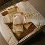 Avance escultura caja con dinero Randall Rosenthal - Noticias totenart