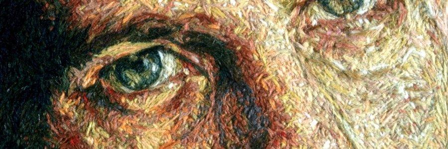 El hilo como pintura: Cayce Zavaglia