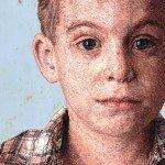 Retrato de un niño con hilos, de Cayce Zavaglia