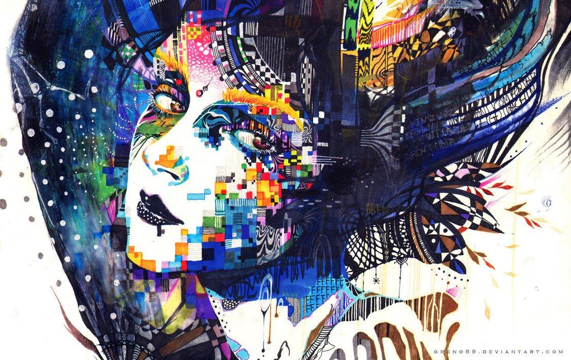 Cómo pintar con rotuladores - Noticias de Arte Totenart