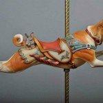 Basenji, escultura en madera de Tim Racer