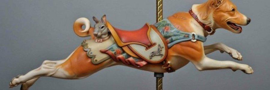 ¡Ladra! Esculturas perrunas en madera