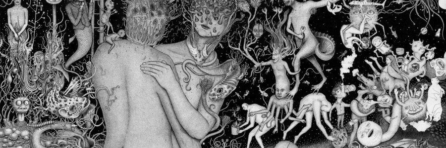 Más negro que la tinta: el arte macabro de Tolman