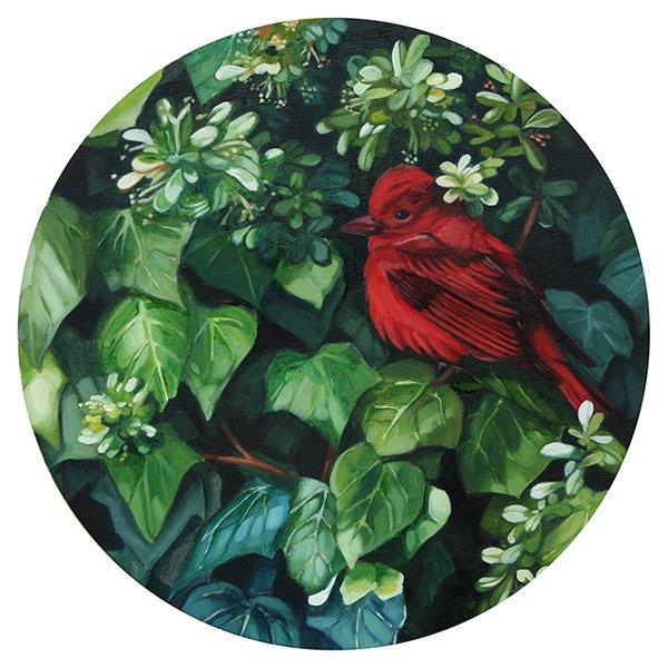 Serie (óleo sobre lienzo). Lucía Rodríguez